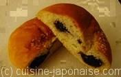 An-pan (pain à la pâte de haricot azuki)