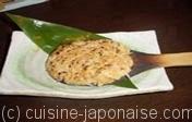 Soba-miso (graines de sarrasin grillées au miso)
