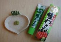 wasabi en tube